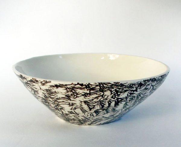 unikatna keramika školjka